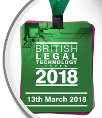 British Legal Technology Forum 2018 image