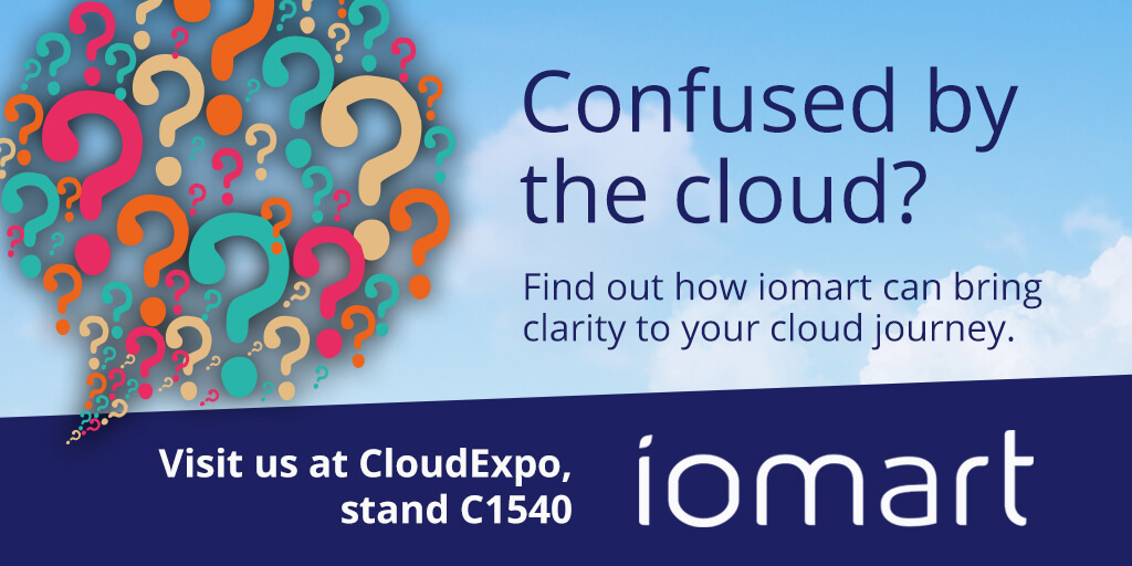 iomart Cloud Expo Europe 2018