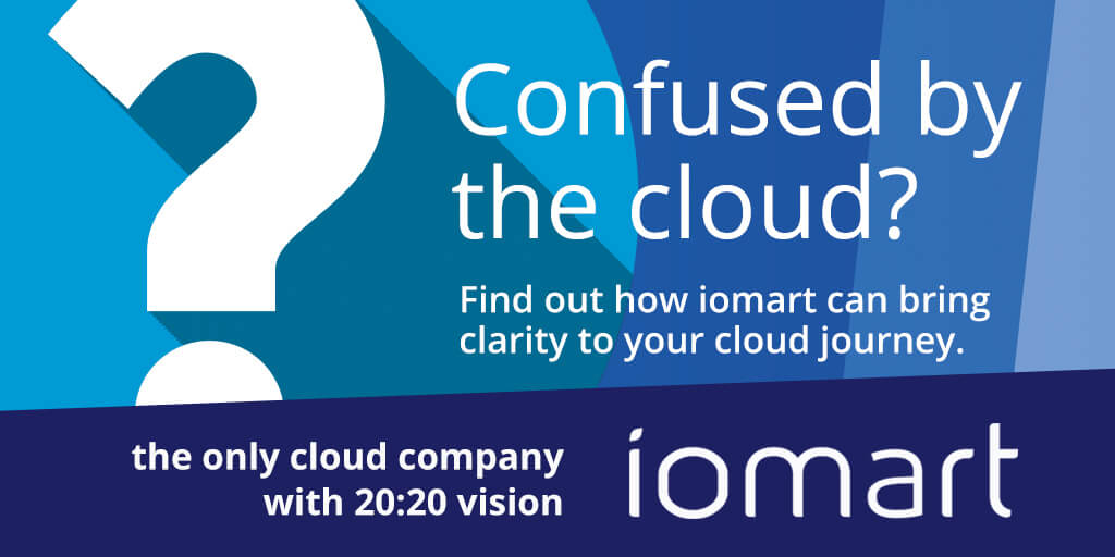 IP EXPO Manchester iomart cloud vision graphic
